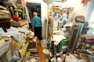 Hoarding Seniors and Walkers Don't Mix