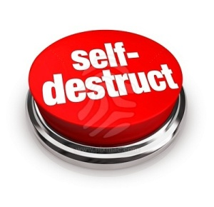 Self-destructive, stubborn, selfish or stupid?
